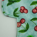 "6"" Liner Cherries Washable Reusable Cloth Menstrual Pad"