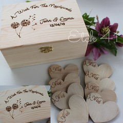 Personalised Event Wish Box