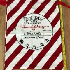 Santa Sack - Stripes