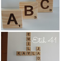 Game Style Letters