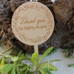 Personalised Timber Gift Spikes