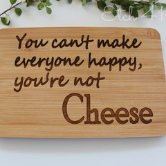 Personalised Bamboo Mini Cheese/ Snack boards