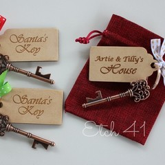 Personalised Santa Key