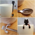 Cat Coffee Spoon, I love You,Cat Lady,Baby Chino