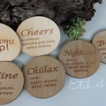 Personalised Etched Coasters