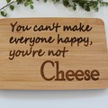Personalised Bamboo Cheese/ Snack boards