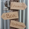Wedding Arrow Signs