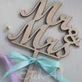 Personalised Timber Cake Toppers