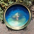 Decorative Metal & Resin Mermaid Bowl