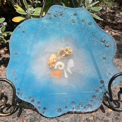 Decorative Resin Plate and seashell plate