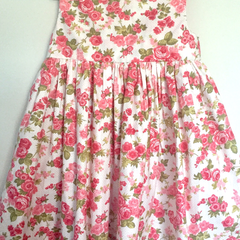 Size 6 'Polka Dot Garden' Tea Dress