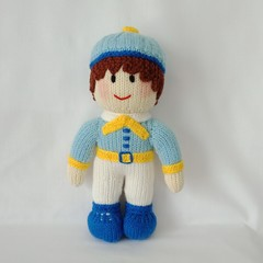 Hand Knitted Doll - Edward