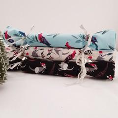 Christmas Bon Bon | Reusable | Zero Waste |  Serviette | Set of 6  Free Shipping