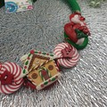 Christmas Gingerbread House Button Fusion Necklace - Jewellery - Earrings