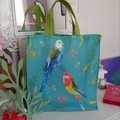 Australian Parrot Canvas Tote Bag