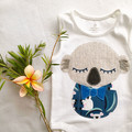 Baby Boys Koala Onesie. Newborn - 2 yrs Baby Gift.