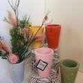 Handmade Coloured Concrete Vases