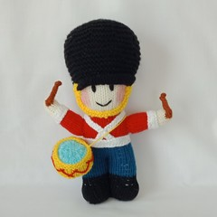 Hand Knitted Doll - Thomas the Toy Soldier