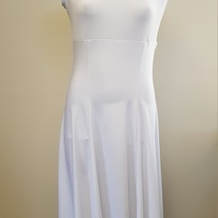 White Lyrical Dress - Size 14 - SAMPLE