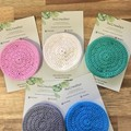 Face Scrubbies-reusable & washable - Natural