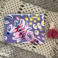 Clutch/Zipper Pouch - Fully Lined