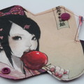 "Toffee Apple 6"" Liner Washable Reusable Cloth Menstrual Pad"