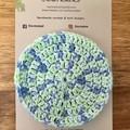 Limited Edition -Face Scrubbies-reusable & washable - Mint Blue