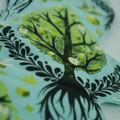 "Tree of Life 6"" Liner Washable Reusable Cloth Menstrual Pad"