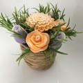 Flowers soap bouquet