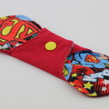 "Supergirl 8"" Light Washable Reusable Cloth Menstrual Pad"