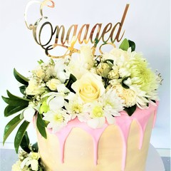 Custom Cake Topper - Your choice of wording