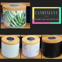 Scented Candle - Soy Wax