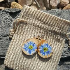 One of a kind artistic earrings