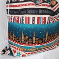 Large Drawstring Bag - Dreaming of New York Design