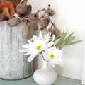 Chrysanthemum Daisy || crepe paper flowers, room decor, gifts for her.