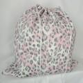 Large Drawstring Bag - Dusky Tiger Design
