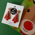 CHRISTMAS TREE -RED