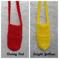 Crochet Water Bottle Holder (Brights Collection)