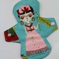 """Esperanza Aqua  9"""" Regular Washable Reusable Cloth Menstrual Pad"""