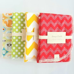 Burp Cloths - Boy/Neutral