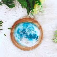 WITH YOU | Jewellery Dish| Wooden Dish | Accessories Dish | Ring Holder  |