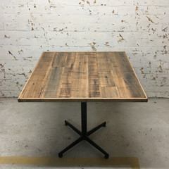 Rustic Recycled Timber Table Tops, Cafe/Restaurant Unique & Handmade