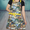 Vintage Style Australian Made Womens Kitchen Cooking Apron