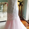 Lovely, light-weight gown, perfect for a summer garden or beach wedding