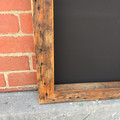 Chunky Vintage Chalkboard, Handmade Retro Blackboard, Rustic and Handmade, Very