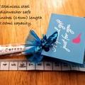 Teacher Gift Set,Teacher Gift,Teacher Thank you, Hand Stamped Spoon,Present