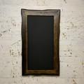 Charred Driftwood Framed Chalkboard, Restaurant Menu Black Board