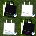 Personalised Shopping Bag Library Book tote Teacher Gift