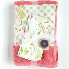 Bath Towel Gift Set - Girl