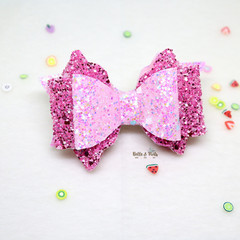 Pink Fuschia Hair Bow